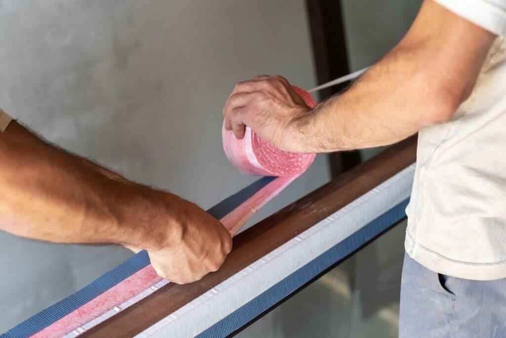 Ciepły montaż okien