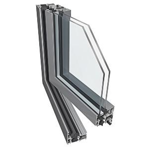 Drzwi Aluminiowe zew. EKONOMICZNE PT60